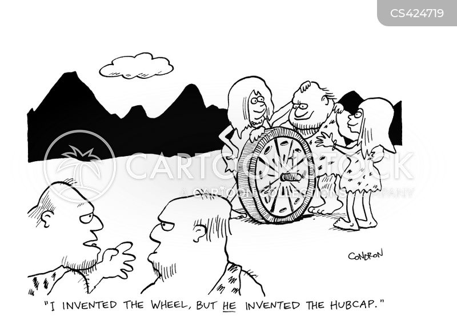 hub caps cartoon