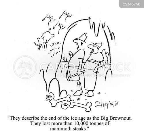 primitive art cartoon
