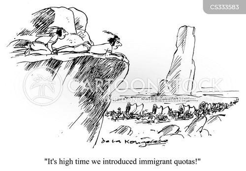 the west cartoon