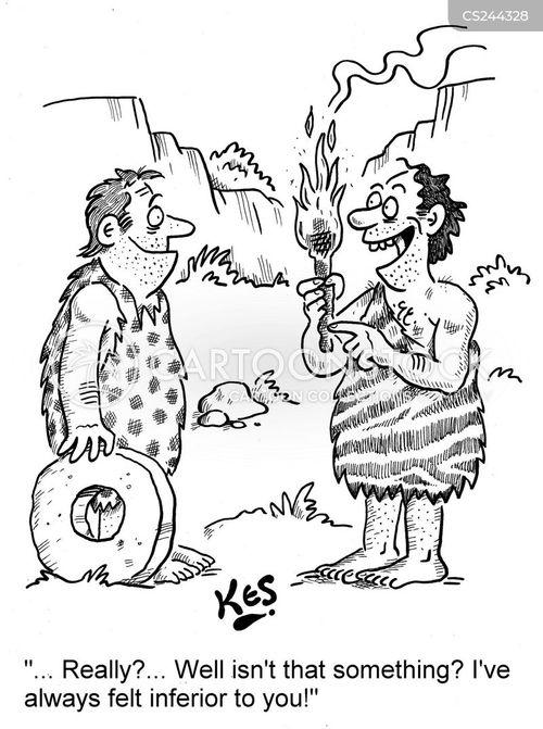 inferiority cartoon