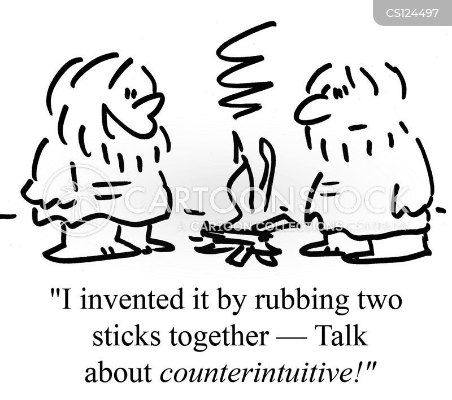counter-intuitive cartoon