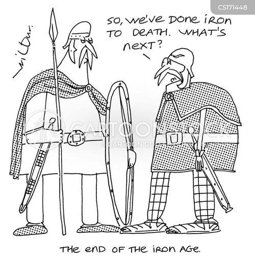 iron cartoon