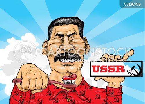 totalitarian regime cartoon