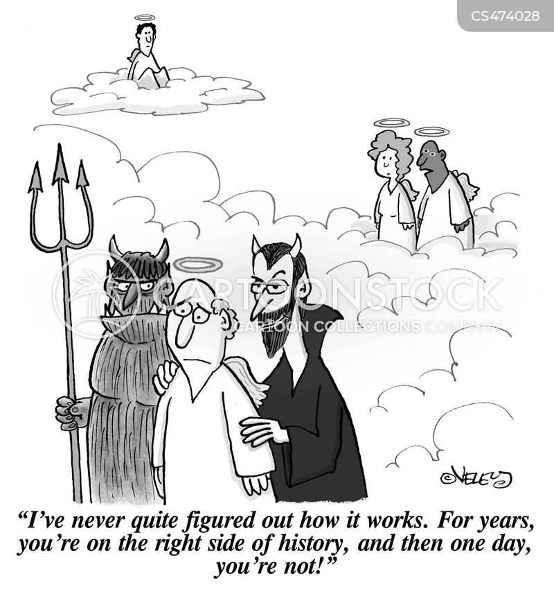 judgement days cartoon