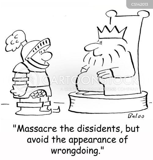 dissidents cartoon