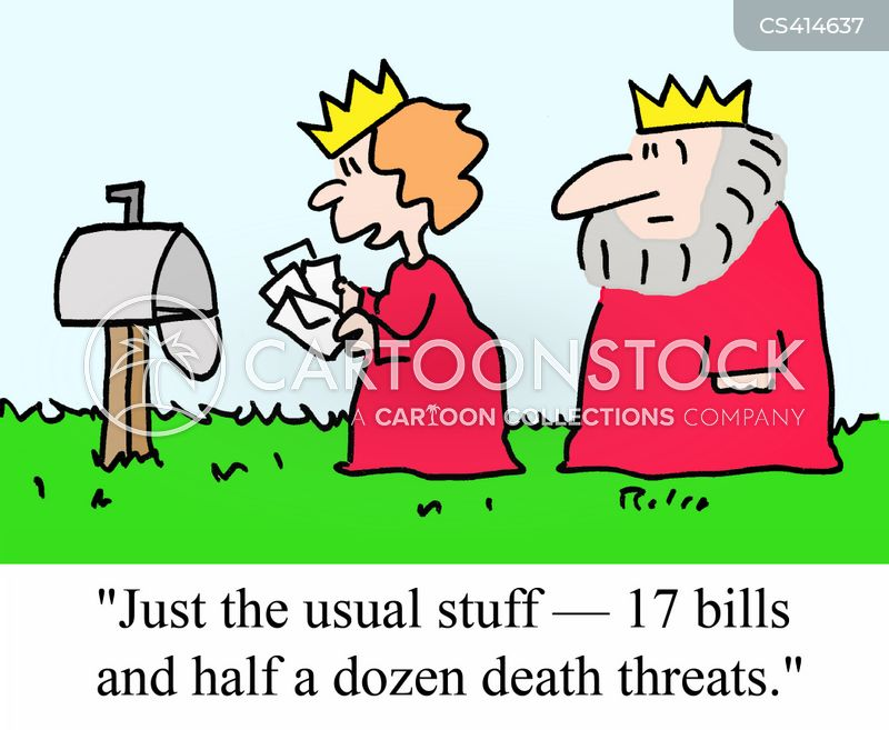 death threat cartoon