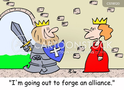 alliances cartoon