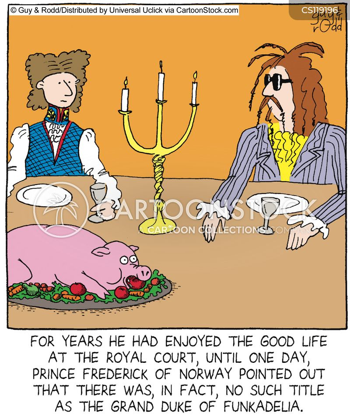 royal court cartoon