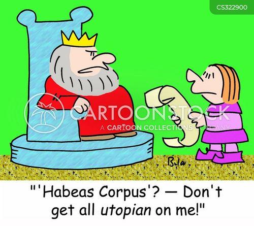 utopian cartoon