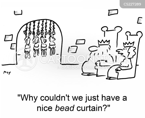 beads cartoon