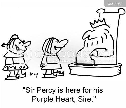 purple cartoon
