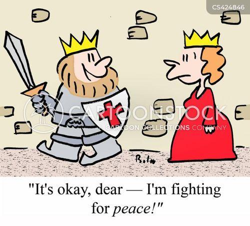 war-monger cartoon