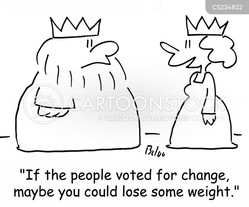 vote for change cartoon