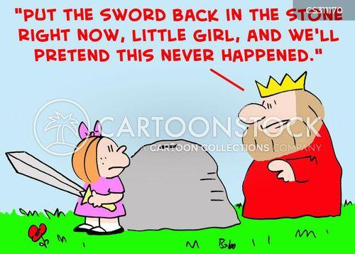 arthurian cartoon
