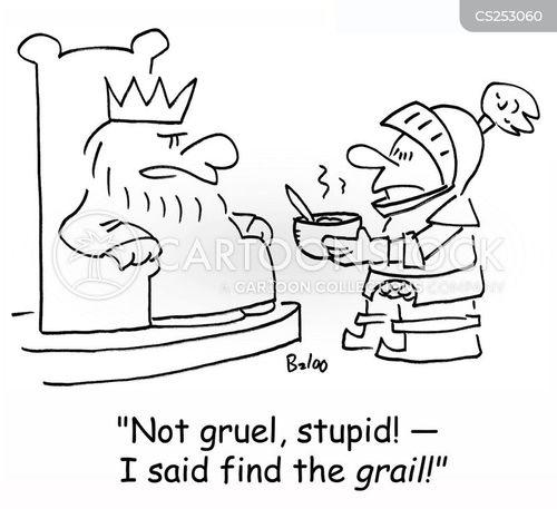 holy grail cartoon