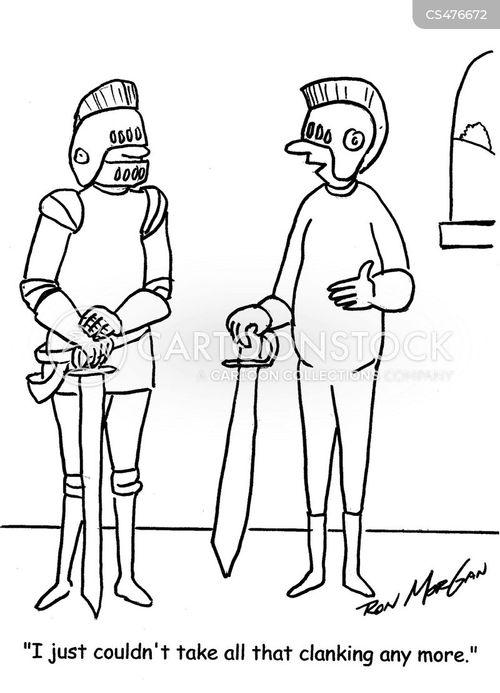 medieval warrior cartoon