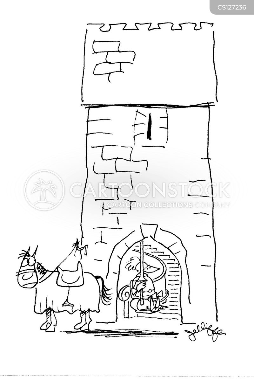 armoured knight cartoon