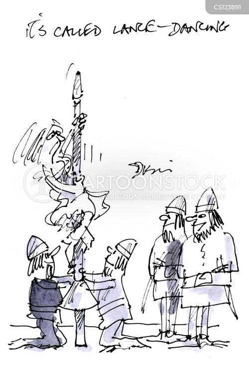 lances cartoon
