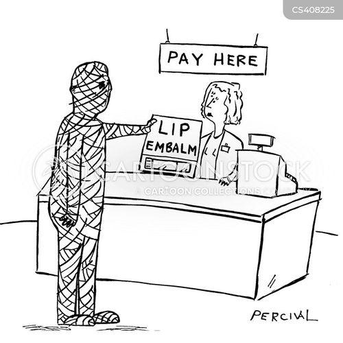 embalmer cartoon