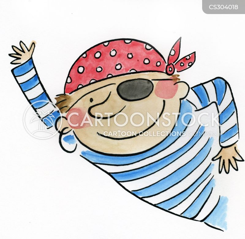 pirate costumes cartoon