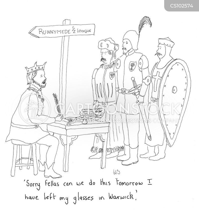 magna carta cartoon