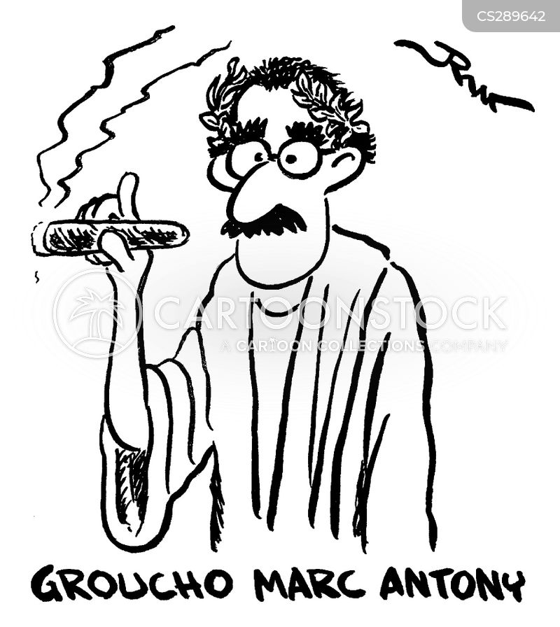 groucho marx cartoon