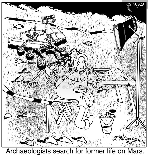 mars cartoon