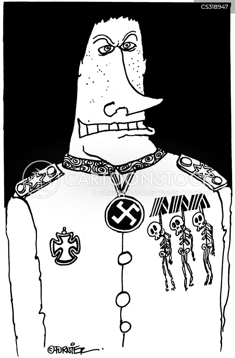 neo nazi cartoon