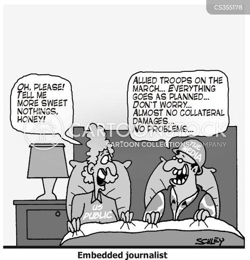 war coverage cartoon