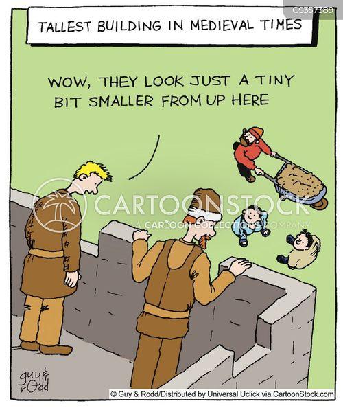 high up cartoon