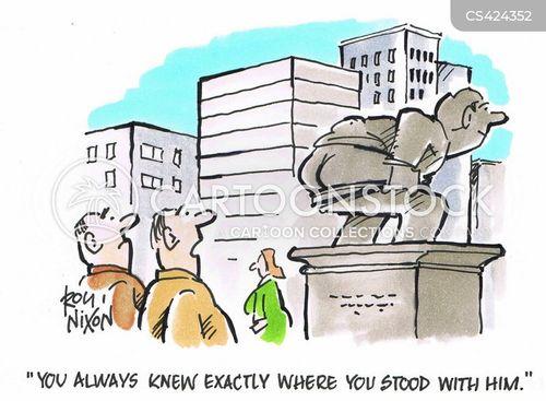 straightforward cartoon