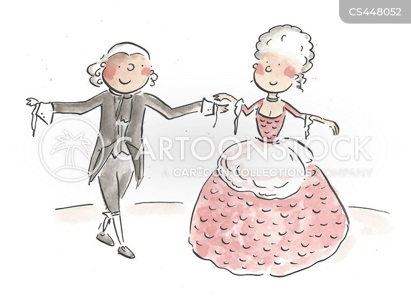 ballroom dances cartoon