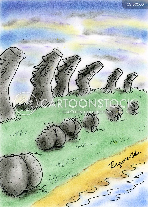 heritage sites cartoon