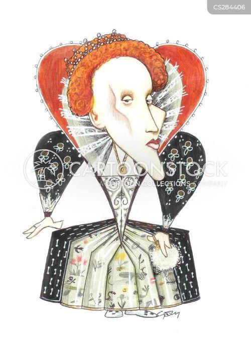 queen elizabeth cartoon