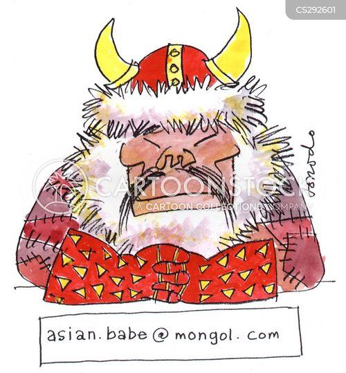 asian babes cartoon