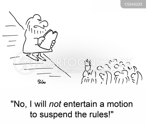 suspend cartoon
