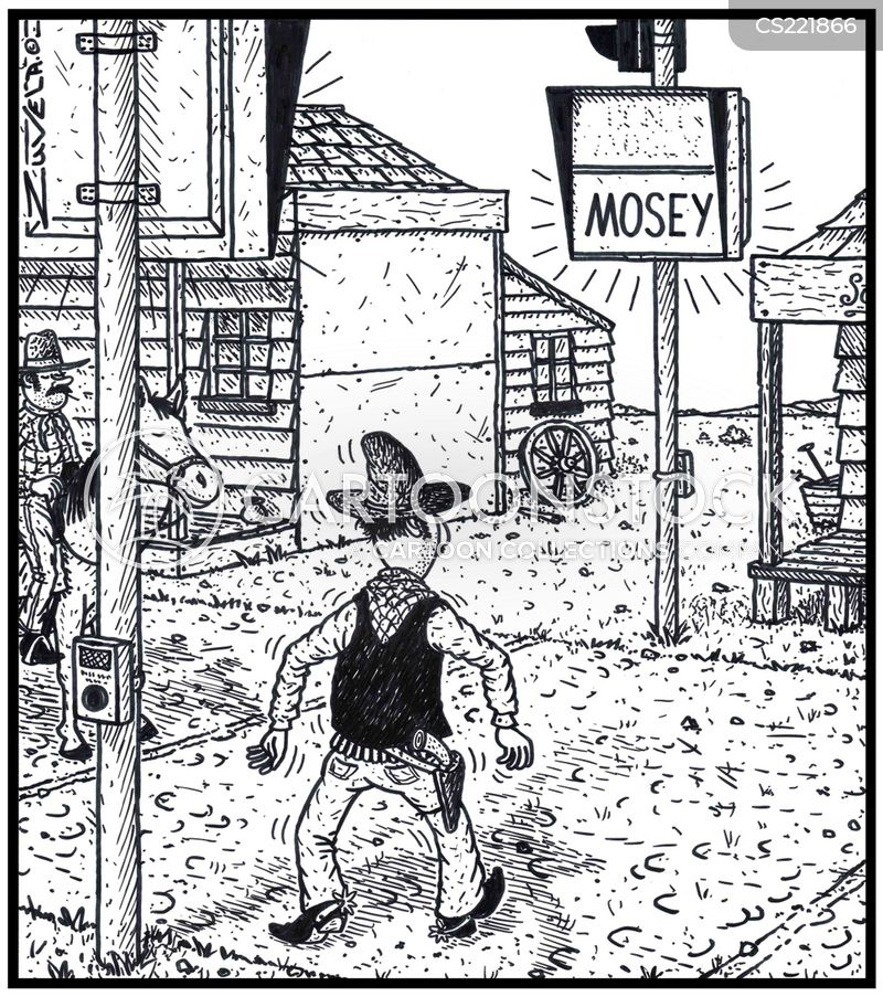mosey cartoon