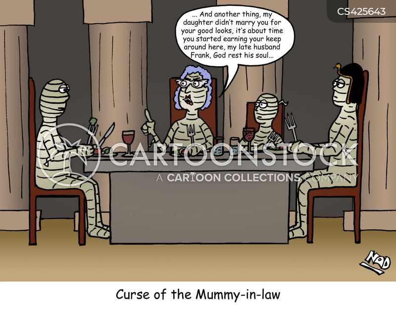 In Law In Laws Cartoons And Comics Funny Pictures From Cartoonstock Mostly, though, this premiere is about cute pets being cute. in law in laws cartoons and comics funny pictures from cartoonstock