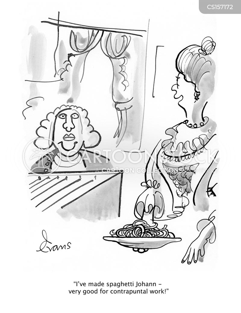 baroque period cartoon