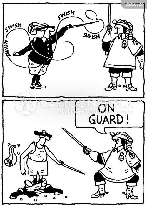 musketeers cartoon