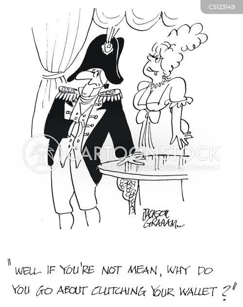 napoleonic cartoon