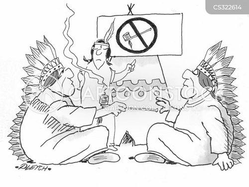 Peace Cartoon Drawings Peace Pipe Cartoon 3 of 13