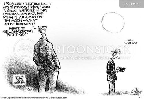 space program cartoon