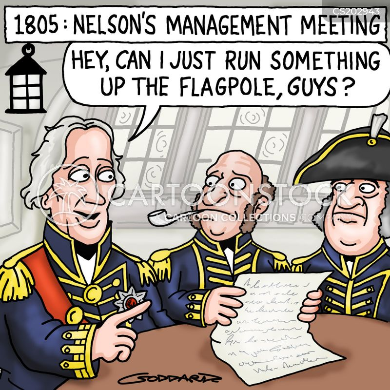 viscount nelson cartoon