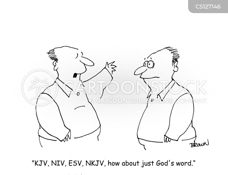 king james version cartoon