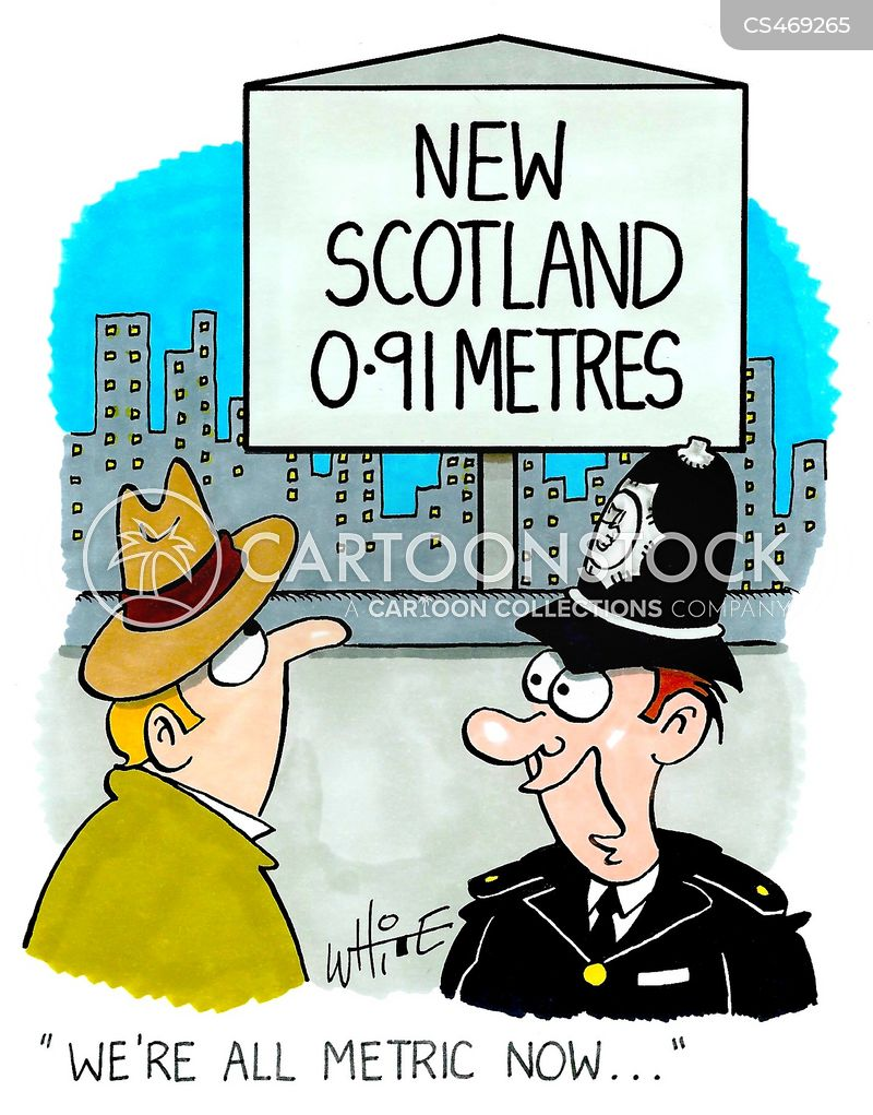 new scotland yard cartoon