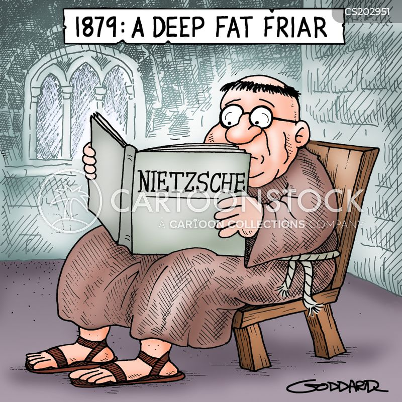 deep fat fryer cartoon