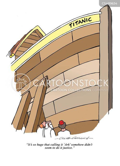 historic ship cartoon