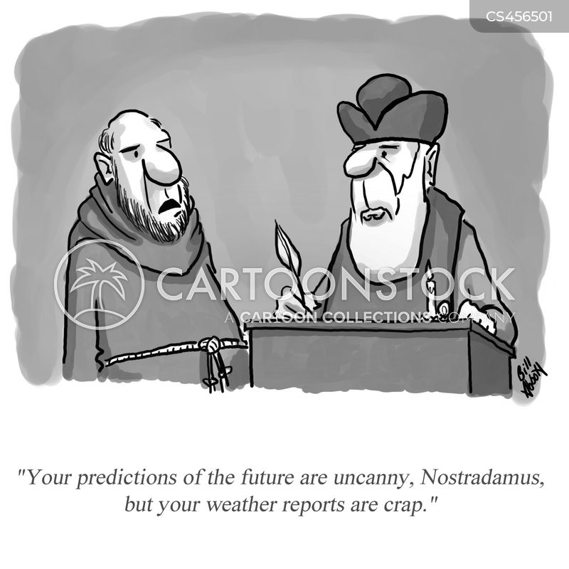 Nostradamus Cartoons And Comics Funny Pictures From