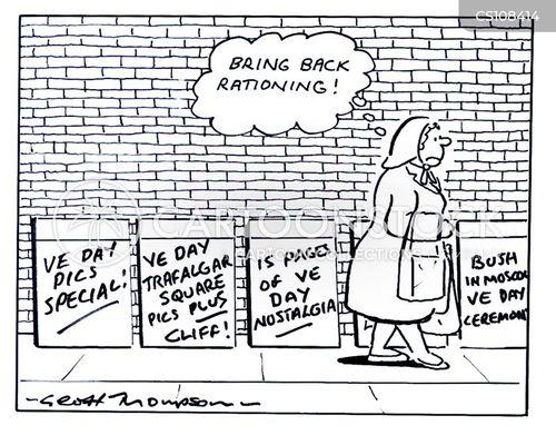 ve day cartoon